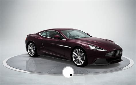 build your own 2013 aston martin am310 vanquish with new