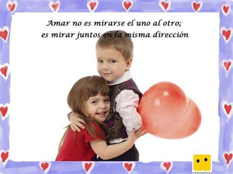 imagenes de amor para niños frases de amor imagen de ni 241 os con un globo coraz 243 n