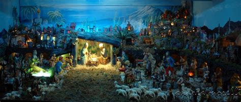 best christmas cribs images traditional crib in a silent by giuseppe appignani 2005 photo andrea morelli