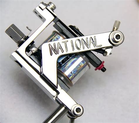 national tattoo equipment national stainless steel talon machine head