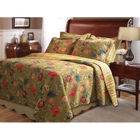 Walmart Bedspreads And Quilts by Global Trends Madrid Bedding Quilt Set Walmart
