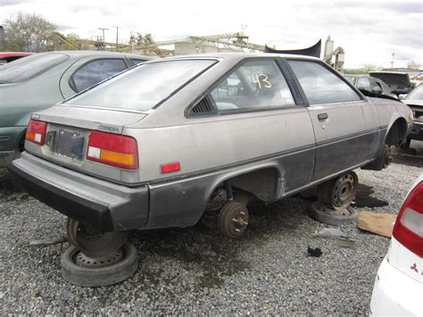 1983 mitsubishi cordia junkyard find 1984 mitsubishi cordia the truth about cars