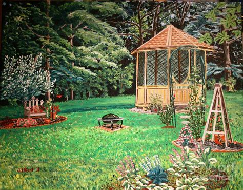 gazebo artist gazebo painting by janice best