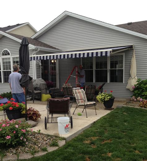 Sunsetters Retractable Awnings by Sunsetter Awning Dealer And Installation Pratt Home