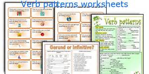 verb patterns exercises pdf with answers the