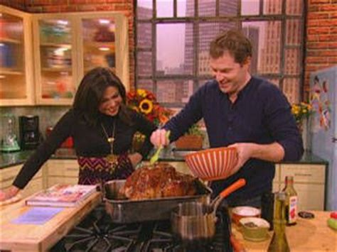 a barefoot thanksgiving with ina and bobby bobby ina garten and check out bobby flay s roasted turkey it s so easy to