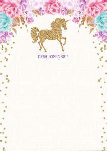 magical unicorn birthday invitations kittybabylovecom