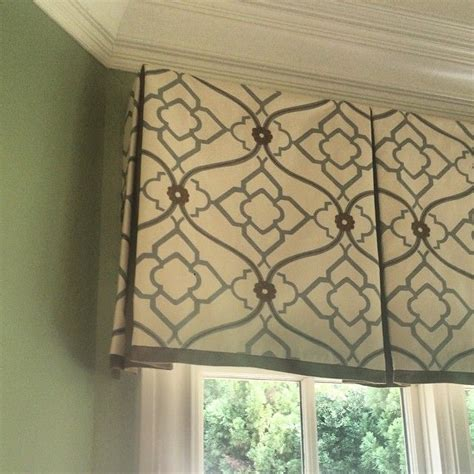 valance designs best 25 box pleat valance ideas on pinterest window