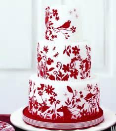 red and white wedding cake ideas weddings eve