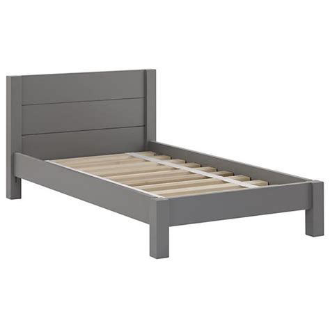 gray toddler bed uptown toddler bed grey the land of nod