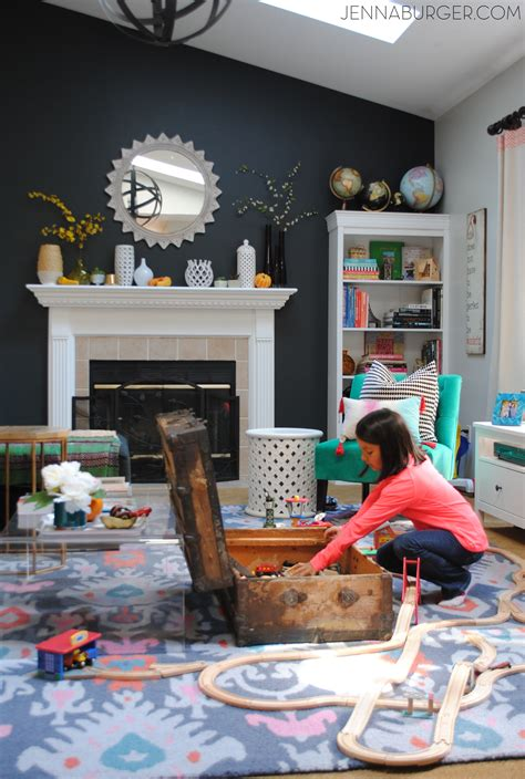 organizing kids toys in living room homeminecraft how i organize kids toys jenna burger