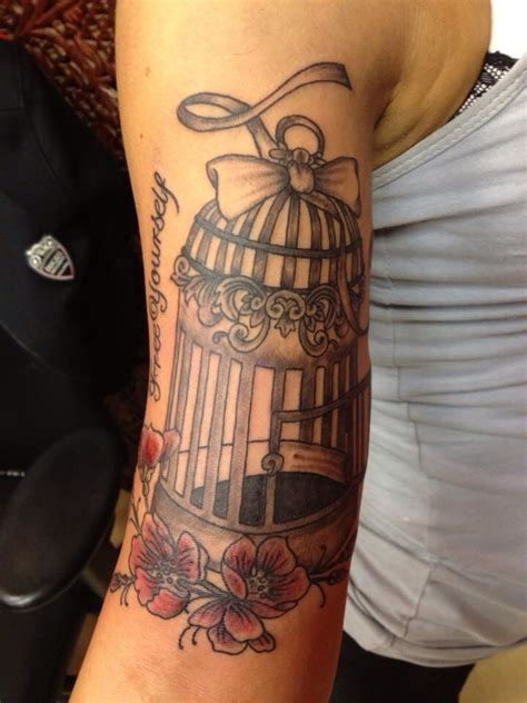 small bird cage tattoo bird cage bird dwellings and decorations cages