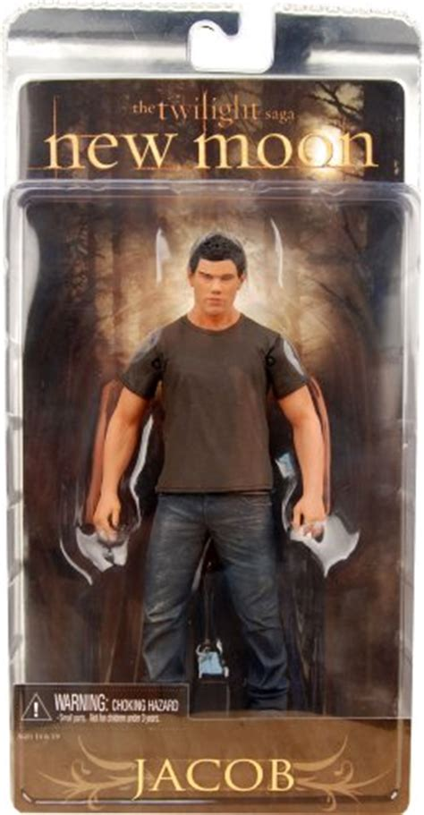 Neca Jacob New Moon Twilight Saga Pvc Statue Model Figures Coll twilight quot new moon quot jacob black 7 quot figure