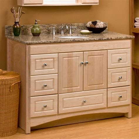 48 vanity with sink 48 quot treemont vanity for undermount sink bathroom