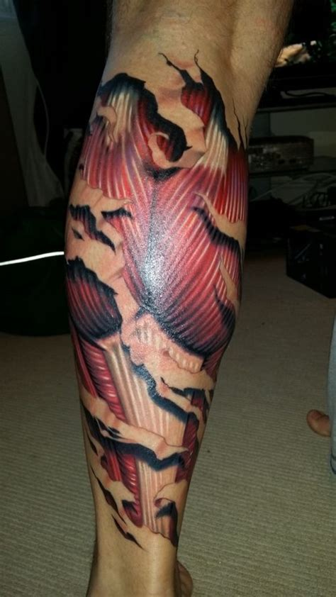 muscle tattoo designs 13 best images on anatomical tattoos