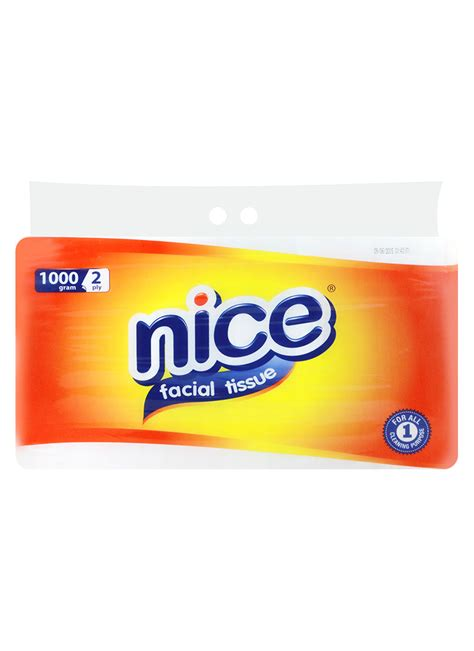 Tissue 900g 2 Ply tissue non perfumed 2 ply bag 1000g