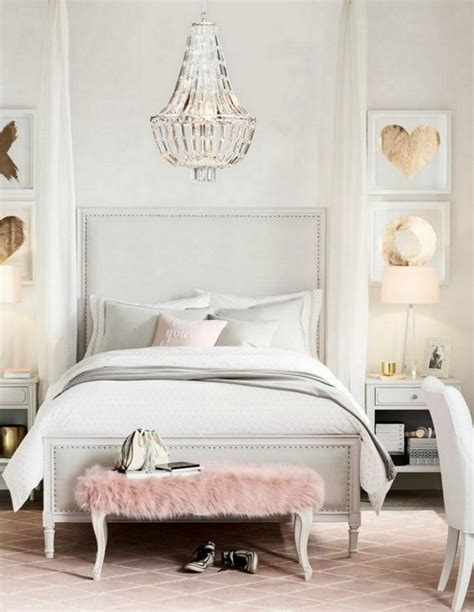 pale nail beds 32 cute and delicate feminine bedroom furniture ideas