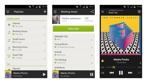 spotify app android spotify android update hits play today brings last fm scrobbling with it