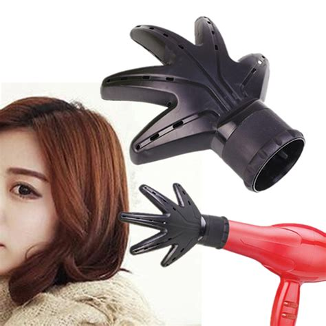 Hair Dryer And Plastic Bag pro attachment hairdressing plastic shape black hair
