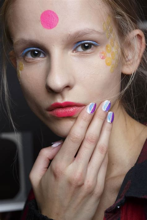 fashion week nail trends spring  popsugar beauty