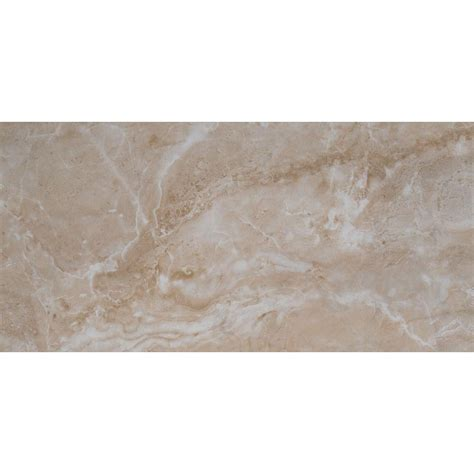 ms international cancun beige 12 in x 24 in glazed