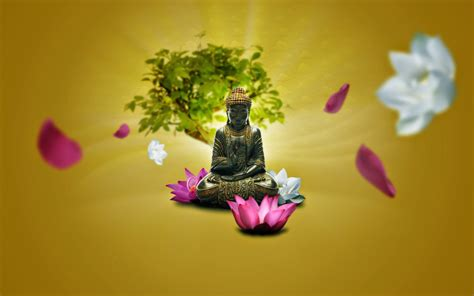 lotus wallpaper for mobile lord buddha hd images and statue wallpaper pixhome