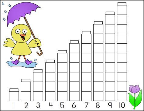 Unifix Cubes Worksheets by A Child S Place April 2012