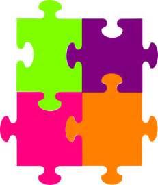 jigsaw puzzle 4 pieces clip art clker vector clip art royalty free amp public domain