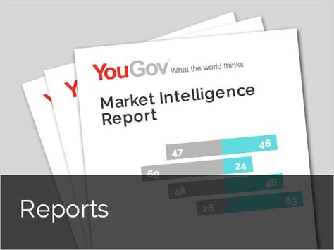 market intelligence report template yougov yougov research services