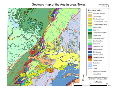 texas geological map geo326g 386g fall 2012 maps of the week