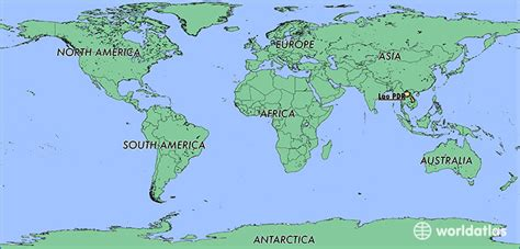 laos on the world map where is laos where is laos located in the world