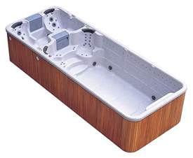 Jacuzzi Bathtubs Canada Grand Bahama Dual Zone Swim Spa Tub