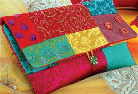 Easy Patchwork Bag Patterns - bag free sewing pattern and