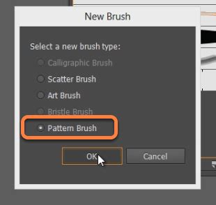 pattern brush options learn the basics of the brush tool in adobe illustrator