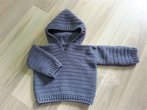 pattern for jersey baby sweater lanas y ovillos