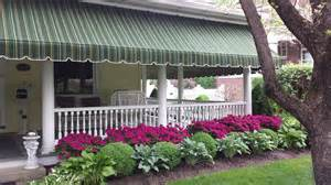 home awnings for porch beautiful striped sunbrella porch awning lititz pa