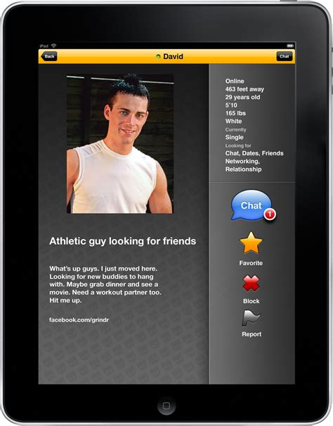 grindr for android grindr 1 5 on screenshot profile coolsmartphone
