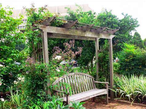 garden bench pergola beatiful garden arches arbors and pergolas creating
