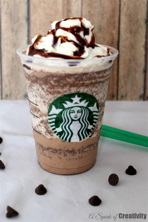 copycat starbucks chocolate chip frappuccino a