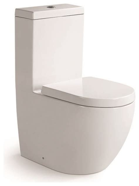 square toliet aqua one piece dual flush square toilet w soft closing