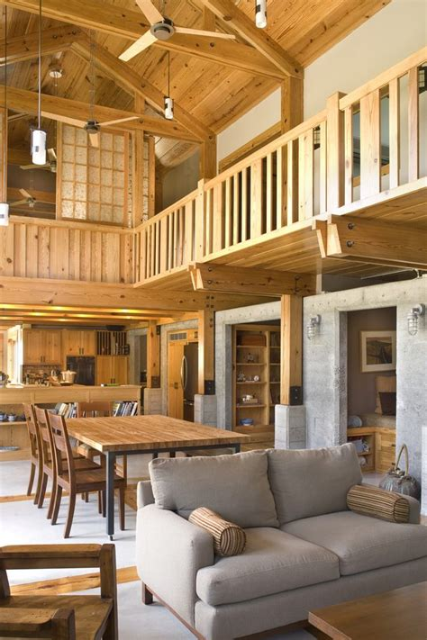 open floor plans with loft vaulted ceiling open floor loft open floor plans living room contemporary with wood