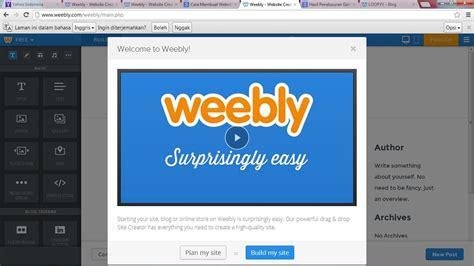 membuat blog weebly agatha vania blog