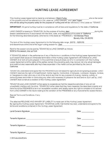 lease agreement form lease agreement form free printable documents