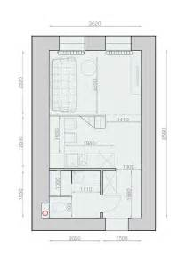 Superbe Amenager Un Studio De 25m2 #3: Plan-appartement-25m2.jpg