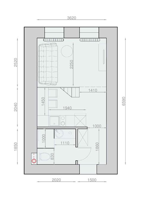 Microhouse by Plans Pour Am 233 Nager Et D 233 Corer Un Appartement De 30m2