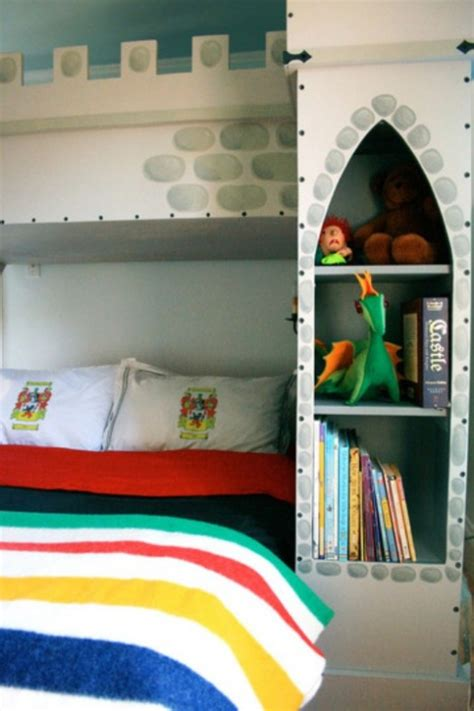 castle beds for boys modern boys bedroom with a castle bunk bed kidsomania