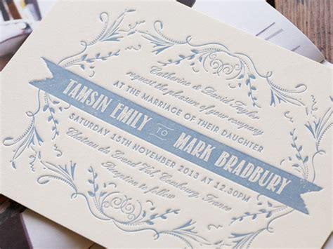 letterpress wedding invitations uk artcadia letterpress wedding invitations invitation crush