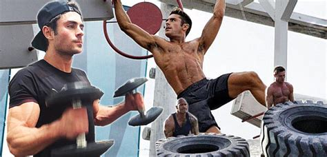 zac efron training how did zac efron put on muscle and workout to get his