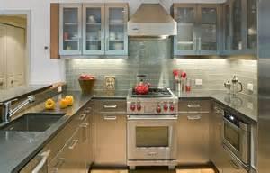 Contemporary kitchen design ideas stainless steel kitchen countertop