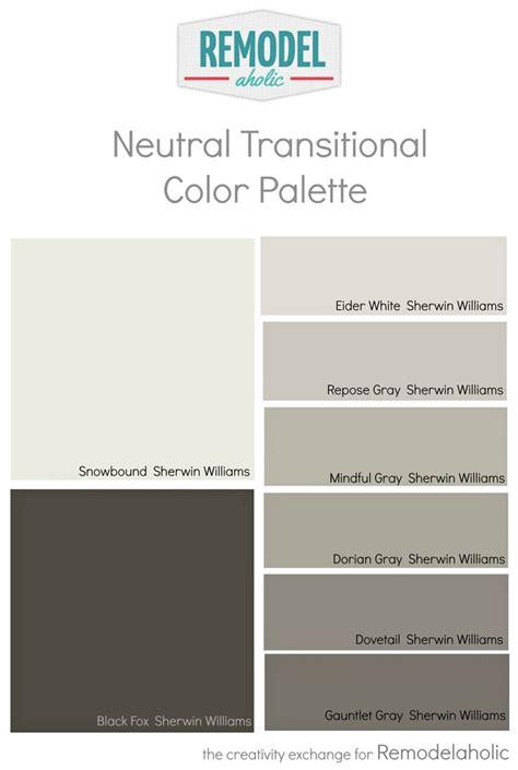 house color palette whole house paint color palette using one undertone